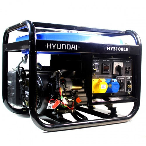 HY3100LE 2.8kW Electric Start Petrol Generator