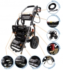 HYW2500P 2800psi Petrol Pressure Washer