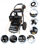 HYW3000P 3000psi Petrol Pressure Washer