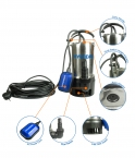 HY55038SSD Electric Submersible Dirty Water Pump